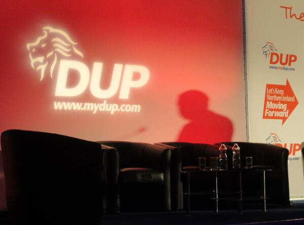 DUP Nigel Dodds shadow