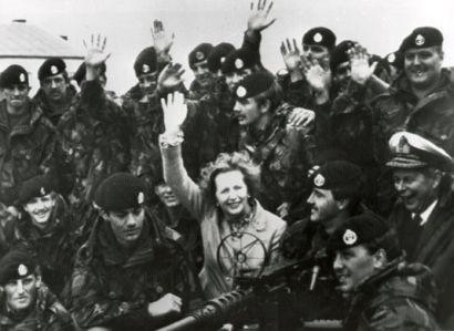 Margaret-Thatcher-falklands pic
