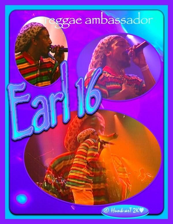 Earl 16 reggae ambassador