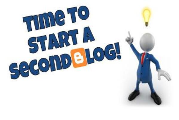 Start a second blog