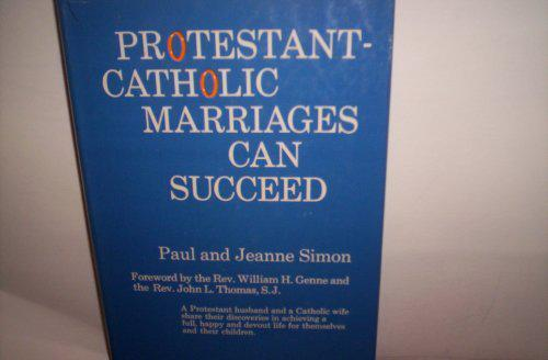 Protestant Catholic marriage image