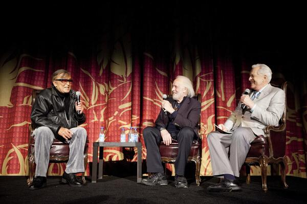 Robert Evans and Robert Towne meet Robert Osborne
