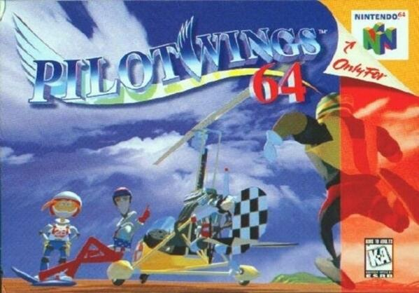 Pilotwings64 cover