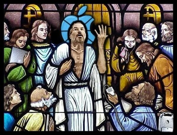 the-cult-of-steve-jobs-kirchenfenster