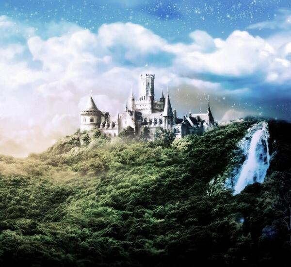 Dream Castle Wallpaper - 1600x100 www.hqwallpaperslk.blogspot.com
