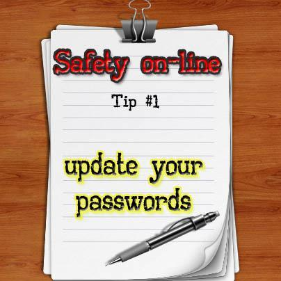 safety online 1 update password