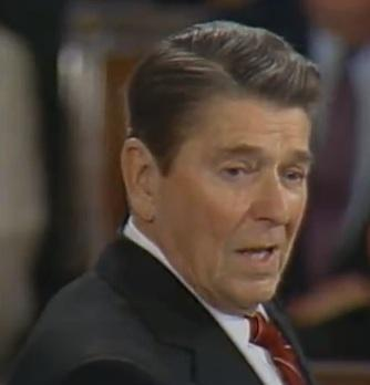 Ronald Reagan 02 6 1985