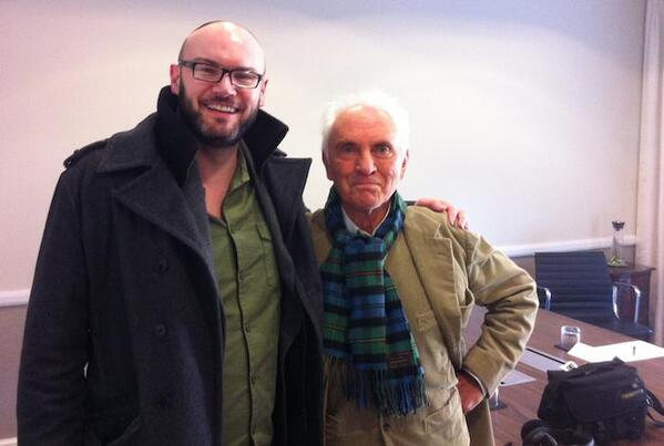 Terence Stamp for BBC Movie Cafe