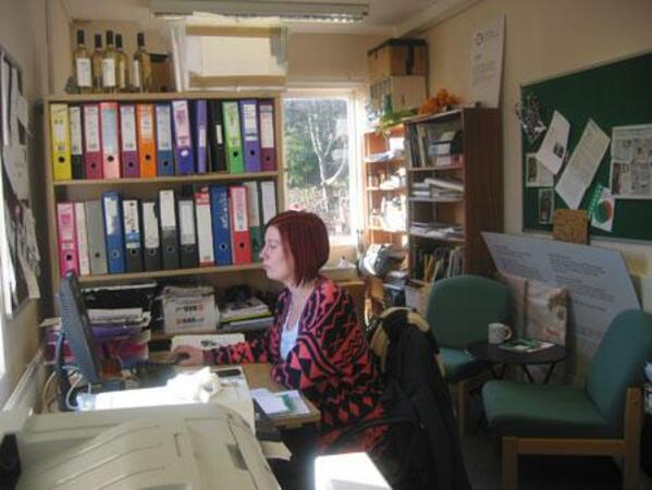 Jane-Noble-in-office