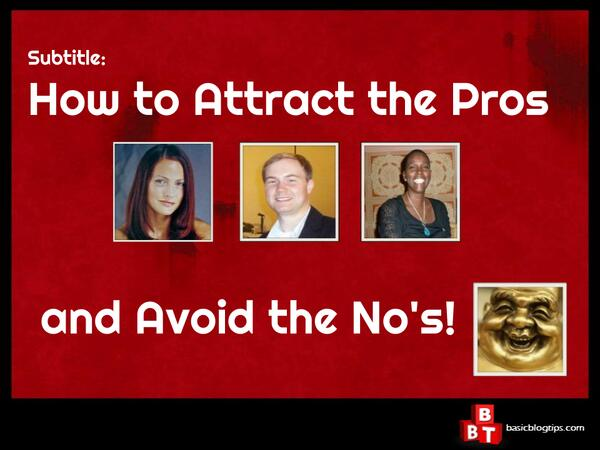 Attract The Pros