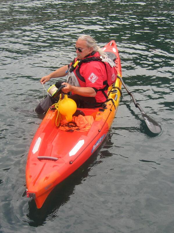 Andy benham kayak anchoring