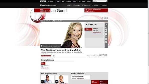 Jo good dating.doc