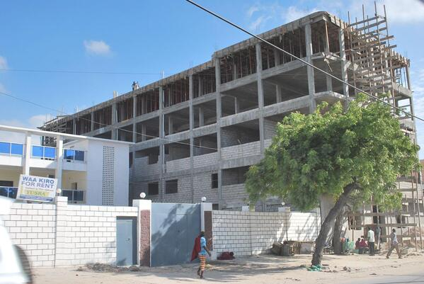 Mogadishu construction