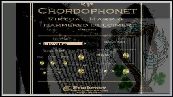 Chordophonet Virtual Harp Syntheway Strings Irish