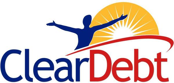 Cleardebt single logo