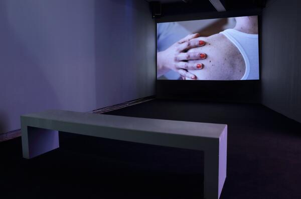 Mathieu Kleyebe Abonnenc Ca va a va on continue 2012-13 Installation view Anguish and Enthusiasm. Image by TAPE