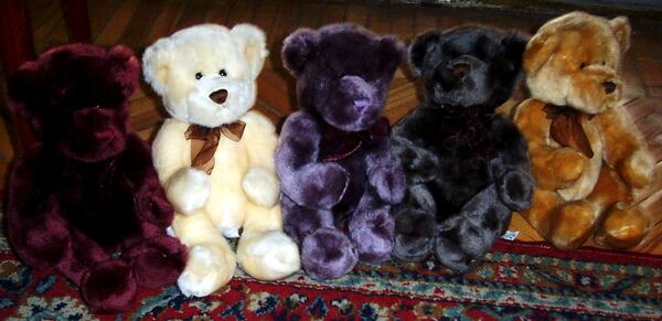 The Reiki teddy bears 12-4-03