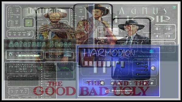 The Good the Bad and the Ugly Ennio Morricone Syntheway Strings Magnus Choir DAL Flute Aeternus Brass Harmodion Percussion Kit VST