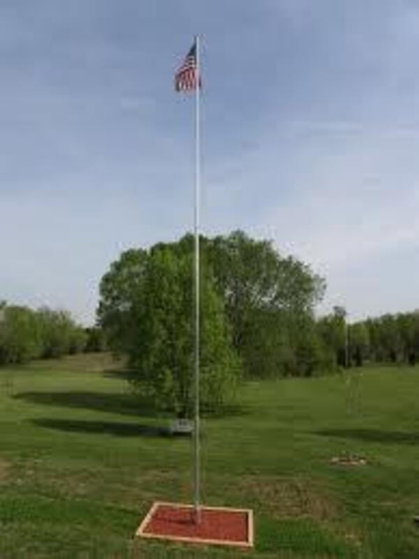 a flagpole