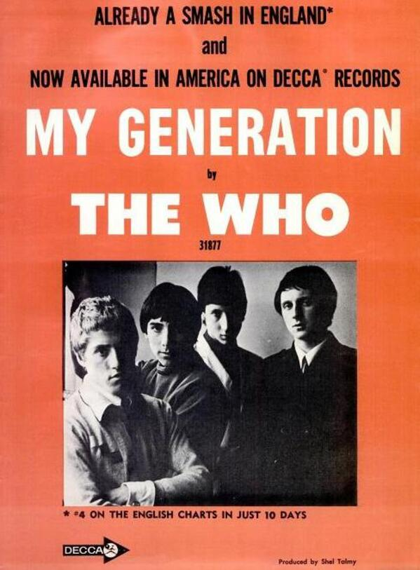 The Who my generation 1965