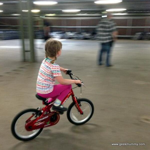 riding without stabilisers