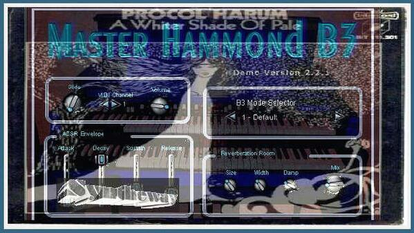 A Whiter Shade Of Pale Procol Harum Syntheway Master Hammond B3 VST Plugin Software Win Mac OSX
