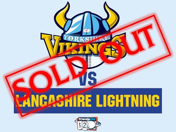 SOLD OUT LANCS