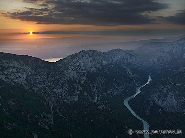 verdon gorge sunset colour-flickr