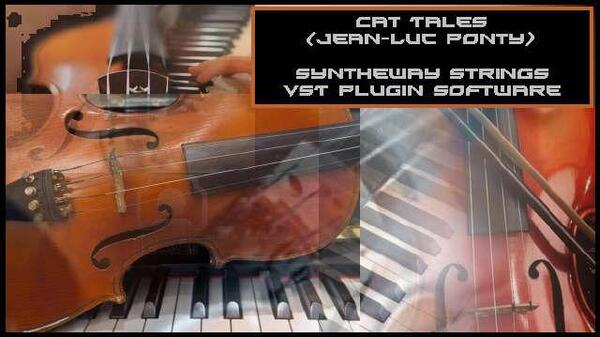 Cat Tales Jean-Luc Ponty Fables Excerpt Violin Related Syntheway Strings VST Plugin Software Win Apple AU Mac OSX Logic EXS24 NI Kontakt NKI Libraries