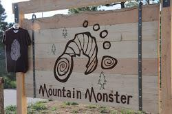 Mountain Monster Sign