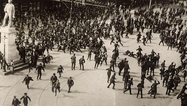 lockout bloody sunday 1913