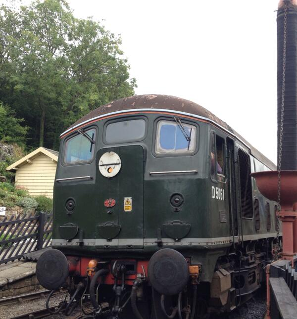 Barmston Holiday Day6 pt4 - Goathland Trains. barmston holiday travelogue goathland steam diesel trains.m4a