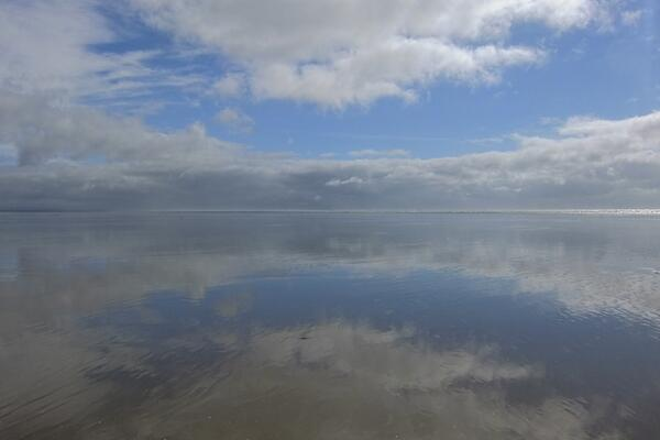Pendine Reflection