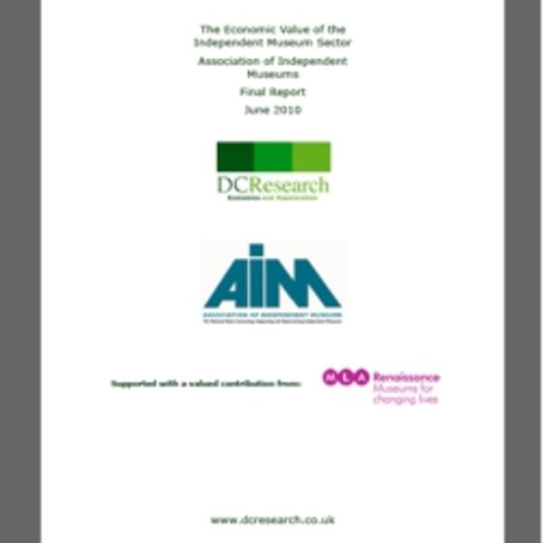 AIM - Economic Value of Independent Museum Sector.pdf