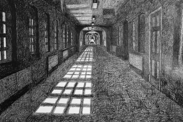 Corridors by Paul Digby
