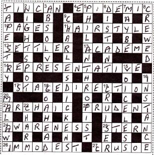 crossword filled in