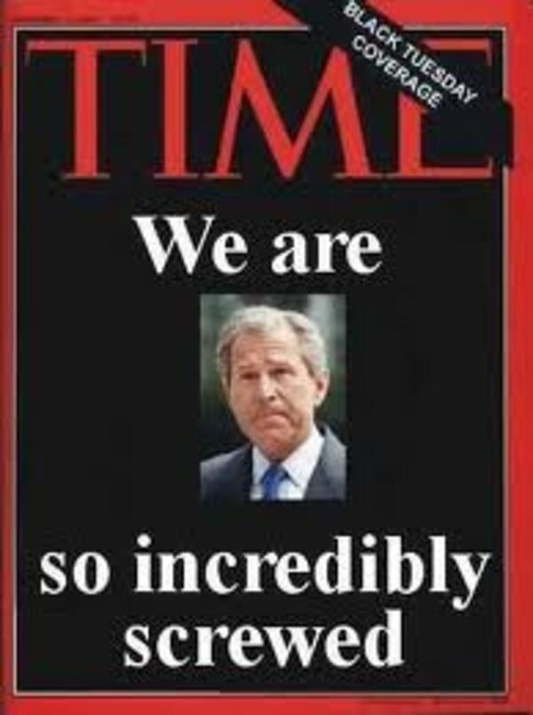 Time Mag Cover - Dubya