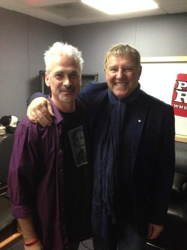 DR and Alex Lifeson Nov 2013