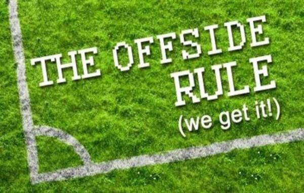 The Offside Rule Logo - hi res