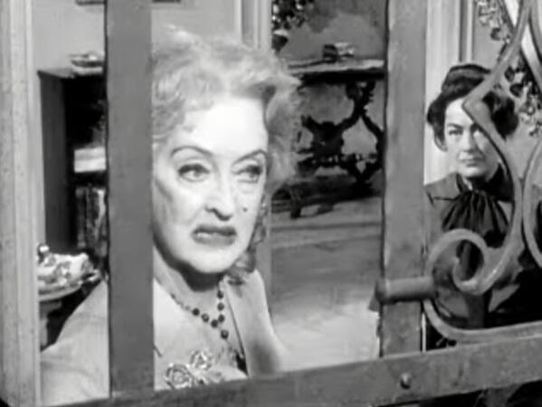 Bette Davis and Joan Crawford in Whatever Happened to Baby Jane trailer