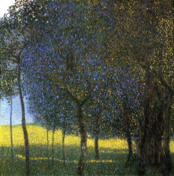 Gustav Klimt-Fruit Trees