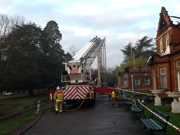 Ewell Court House fire damage 3