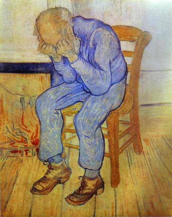 Van Gogh-Old Man in Sorrow