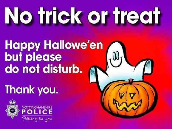No Trick or Treat-new