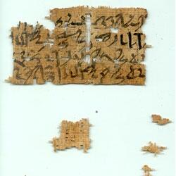 Papyri-fragments