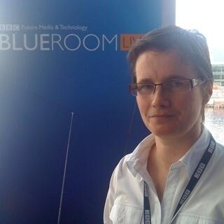 Alison Hunter BBC Blue Room
