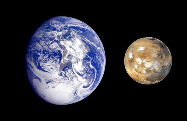 Earth Mars Comparison
