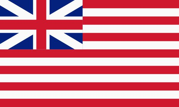British East India Company flag 1700s