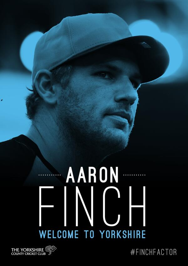 Aaron Finch - Welcome