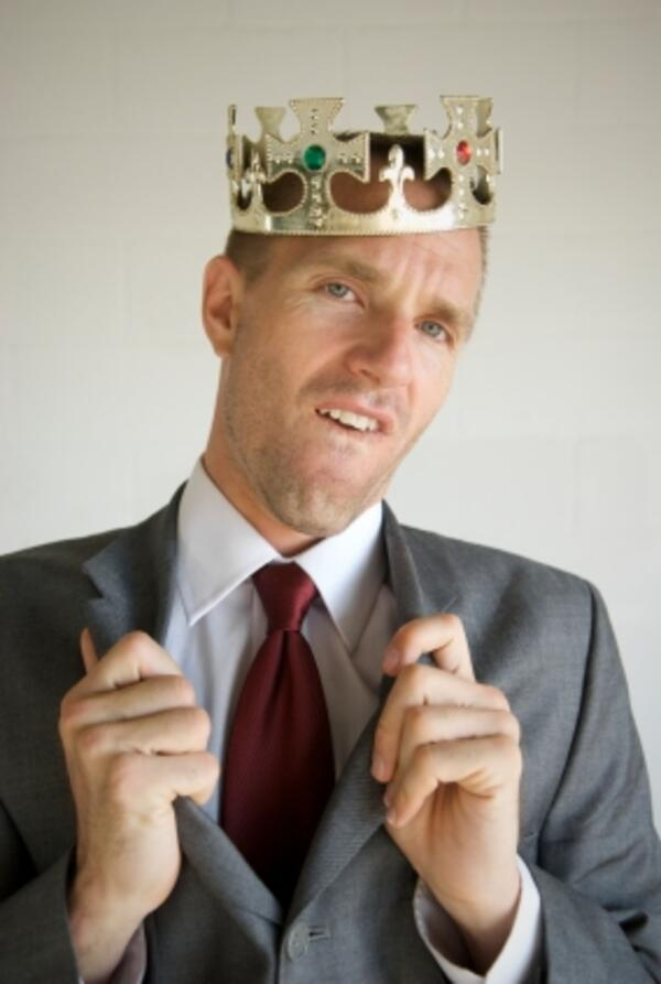 funny biz guy with crown
